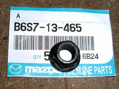 Nut, exhaust manifold, genuine Mazda, MX-5 1.6 mk1, B6S713465